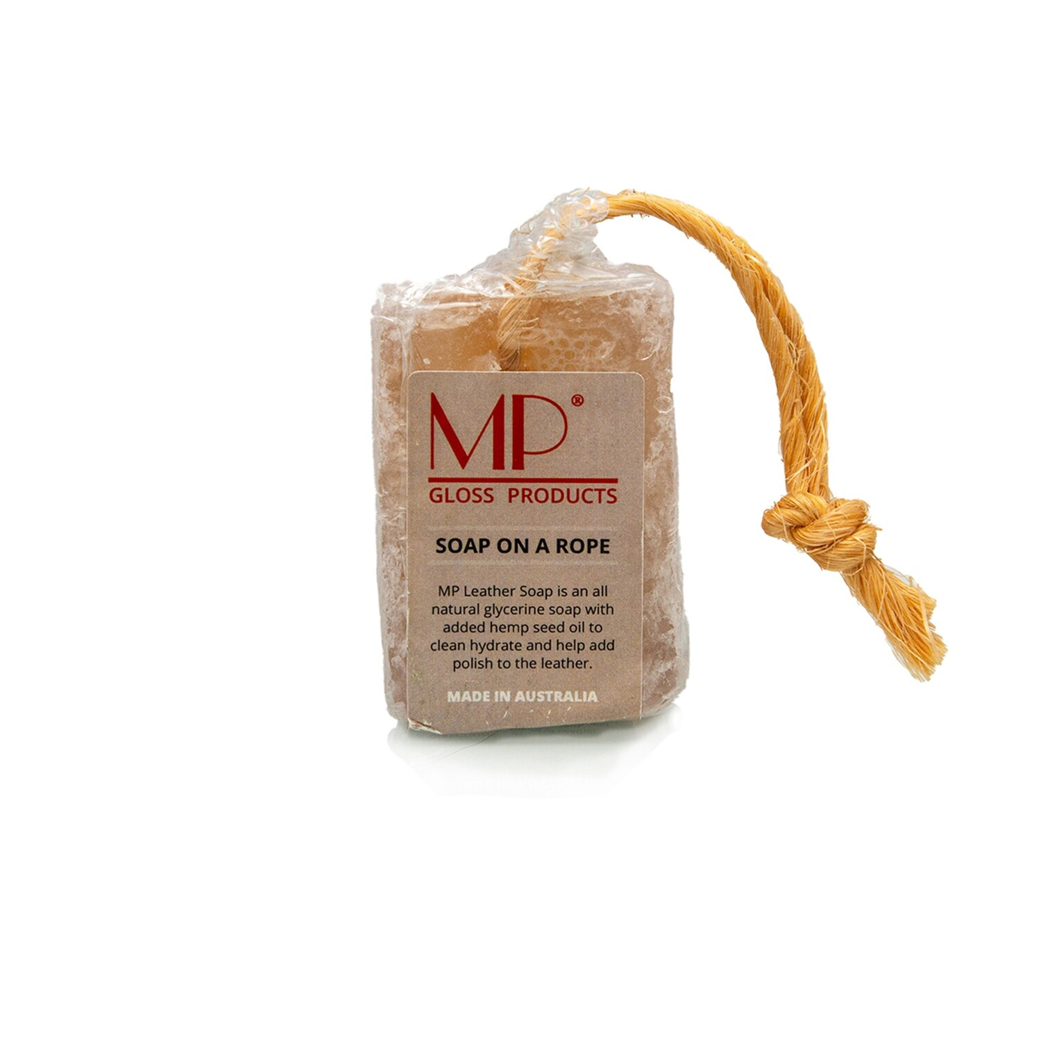 MP Leather Soap On A Rope