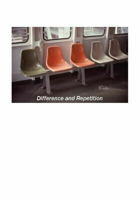 Difference and Repetition (Physical Book)