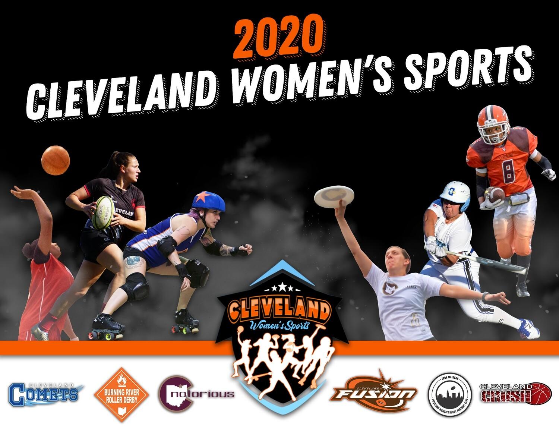 2020 Calendar- Cleveland Women's Sports