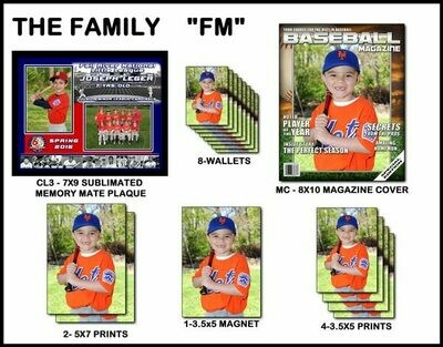 FM- The Family Sports Package with Plaque