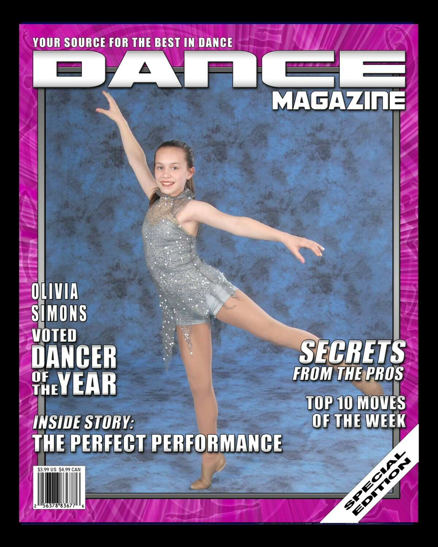 CL4-Sublimated 6 x 8 Magazine Cover Plaque