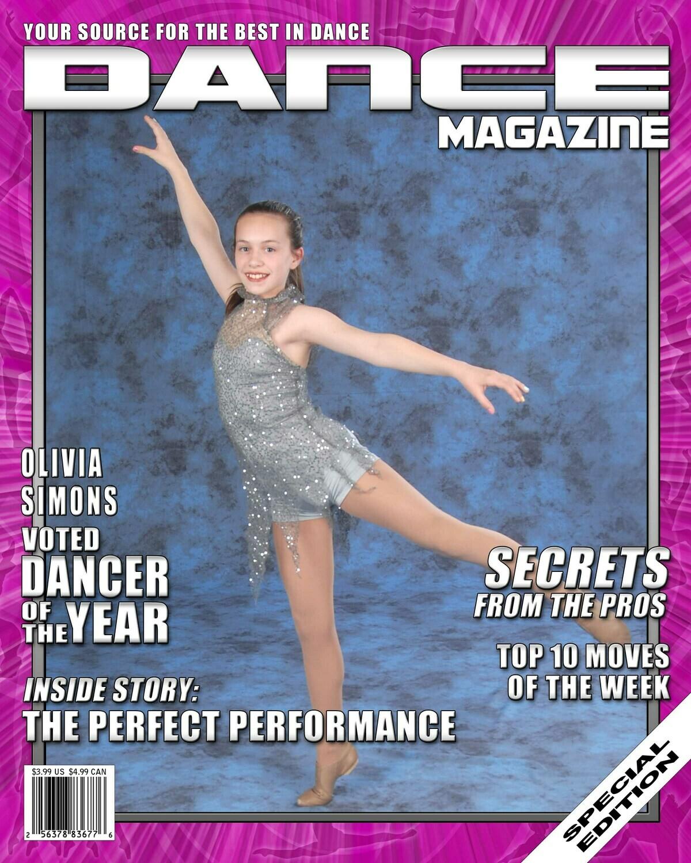 MC- 8 x 10 Magazine Cover print