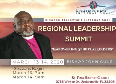 Kingdom Fellowship International Regional Leadership Summit (Friday Night)