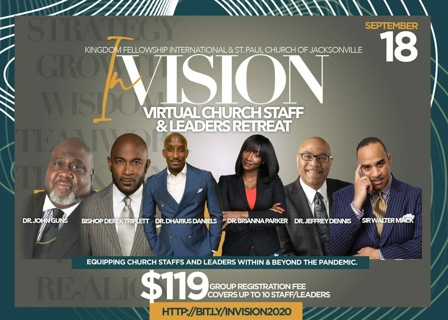 InVision Virtual Staff Retreat Individual Registration