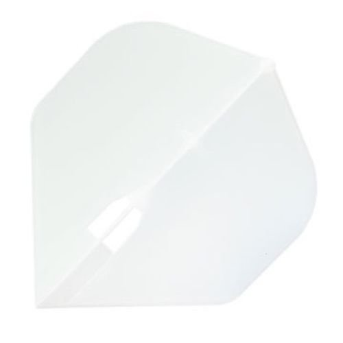 Champagne L-Flight Standard Shape Flight - Clear White