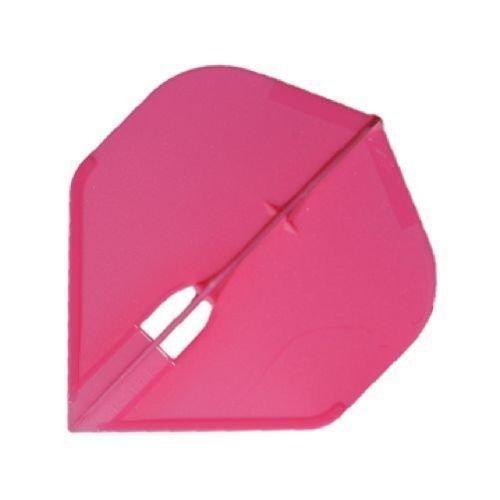 Champagne L-Flight Standard Shape Flight - Hot Pink