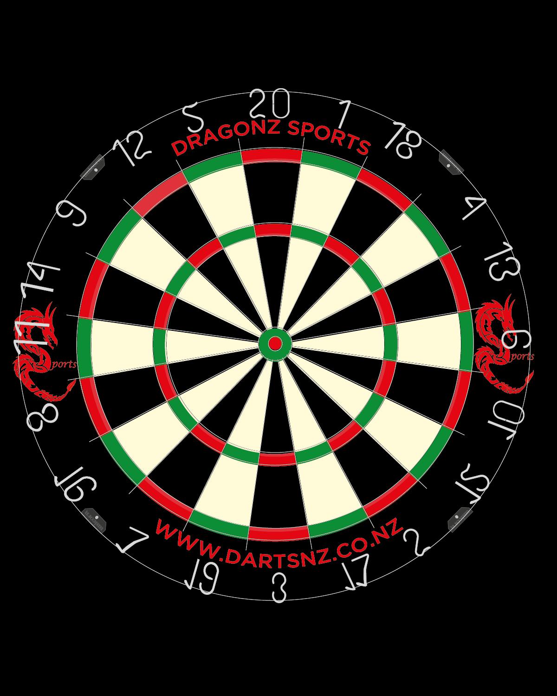 DartsNZ exclusive DragoNZ Sports Dartboard Pro Quality
