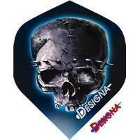 Designa - Blue Shadow Skull