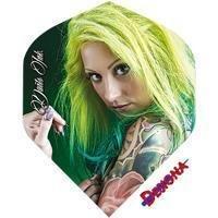 Designa Darts Ink - Green Haired Girl