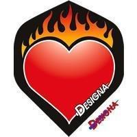 Designa - Flaming Heart