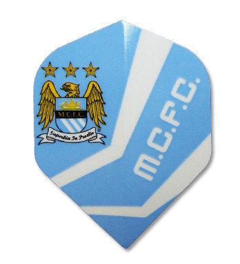 Manchester City MCFC Football Darts FLIGHT