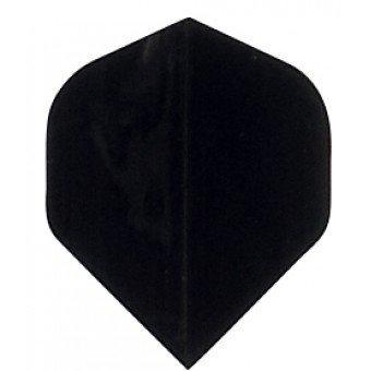 Plain BLACK Poly Flights