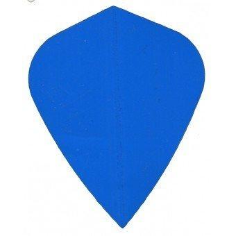 Plain Blue KITE Flight