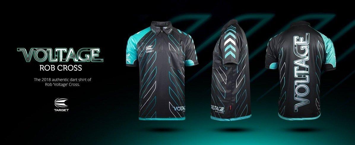 Rob Cross 'VOLTAGE' Darts Shirt