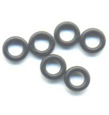 Silicone 'O' Rings - Set of 6