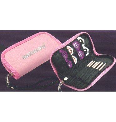 Winmau Darts Case - Pink Rose