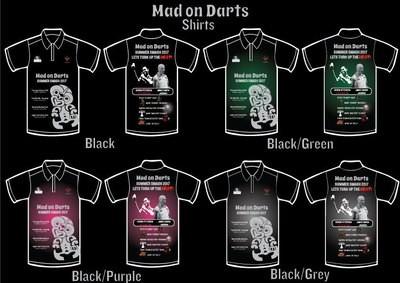 Mad on Darts - Summer Slam 2017 - Limited Edition Event Shirt