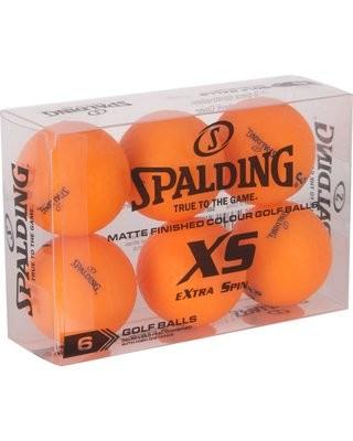 Spalding XS Golf Balls 6 pack