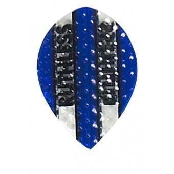 Ruthless Stripes Blue Dimplex PEAR Flights