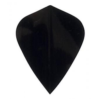 Plain Black KITE Flight