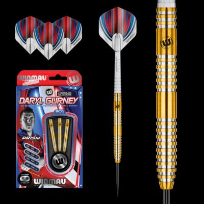 Daryl Gurney Gold Darts with Titanium Nitride Coating
