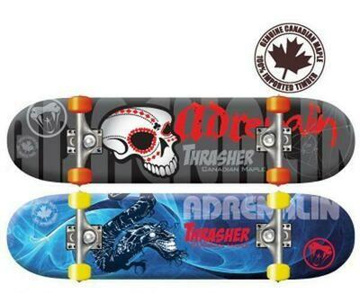 CANADIAN THRASHER BOARD SKATEBOARD