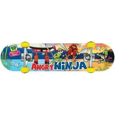 ANGRY NINJA SKATE BOARD