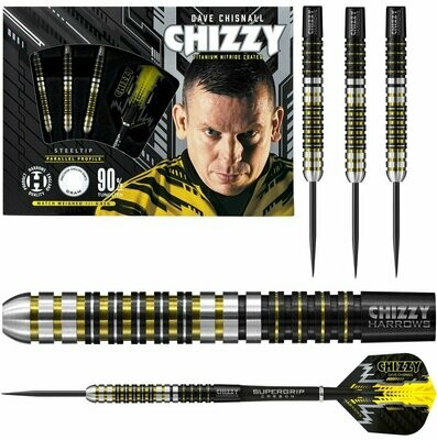 """Dave """"Chizzy"""" Chisnall Darts Harrows"""