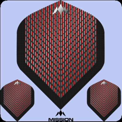 Mission RED DAWN Darts Flights