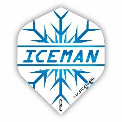 Hardcore Gerwyn Price - Iceman Extra Thick Dart Flights