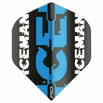 Hardcore Gerwyn Price - Black & Blue Logo Flights