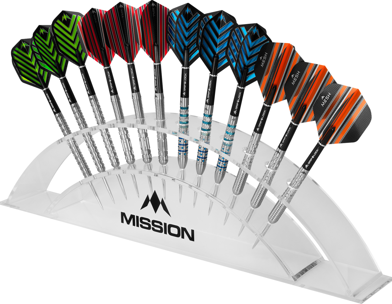 Mission Station 12 Darts Display