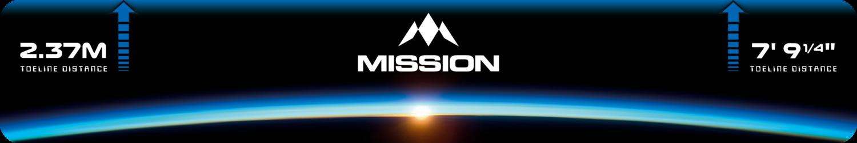 Mission Throw Line Oche - Horizon