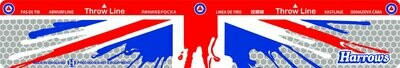 Harrows Throw Line Oche - Union Jack