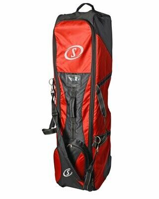 Spalding Black/Red Travel Bag