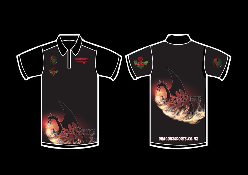 DragoNZ Sports Supporters Darts Shirt