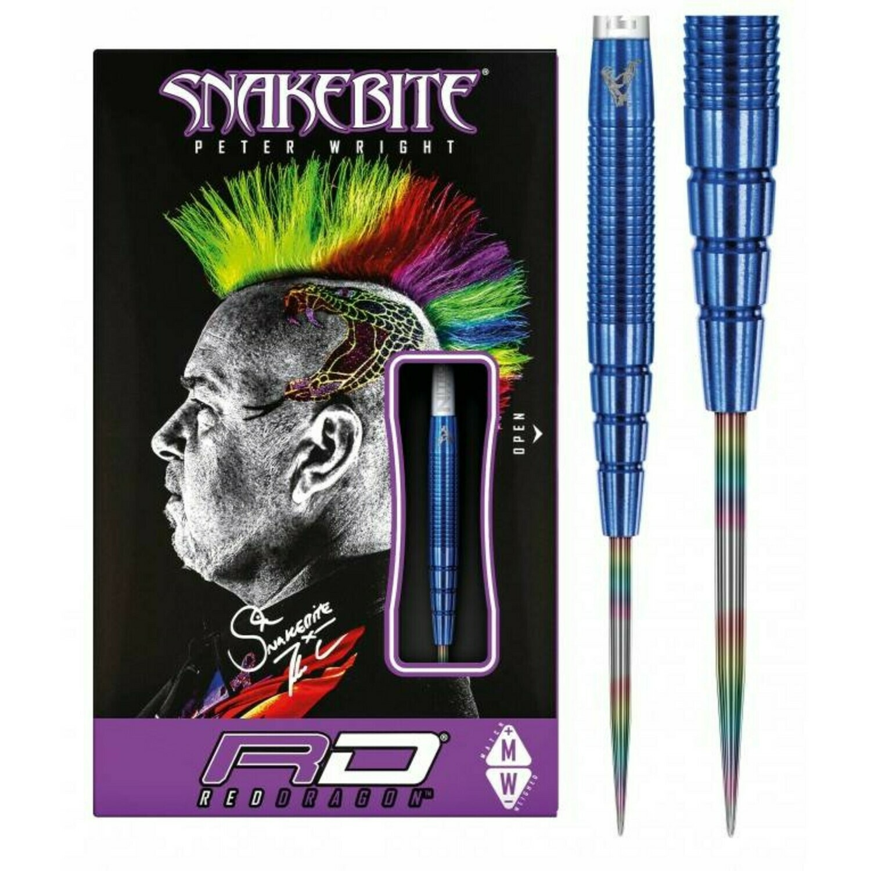Peter Wright 'Snakebite' Darts PL15 - BLUE