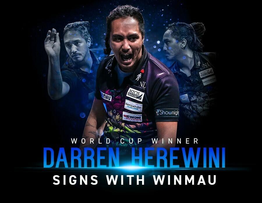 Winmau Darren Herewini Dart Set Darts