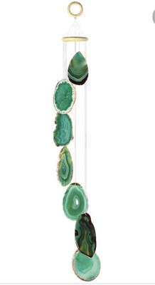 Green Agate Wind Chimes