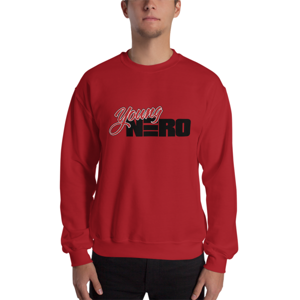 Young Nero Crewneck Sweatshirt
