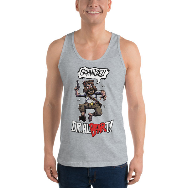 The Dr. Al-BEAR-T Schnitzel Right To BEAR Arms Tank Top!