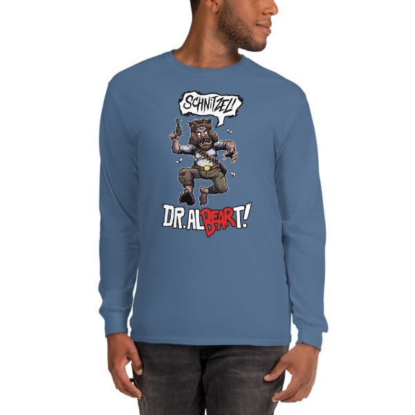 The Dr. Al-BEAR-T Schnitzel Right To Un-BEAR Arms Long Sleeved Shirt!