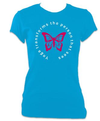 Yoga Transforms T-Shirt (Women's) - free shipping!