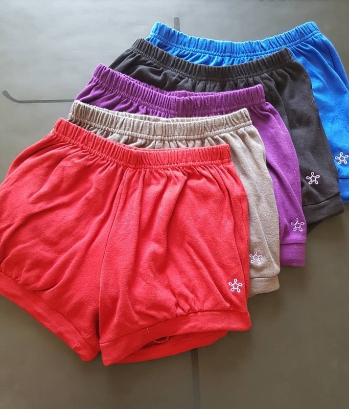 Womens Pune Yoga Shorts (Organic Cotton) - free shipping