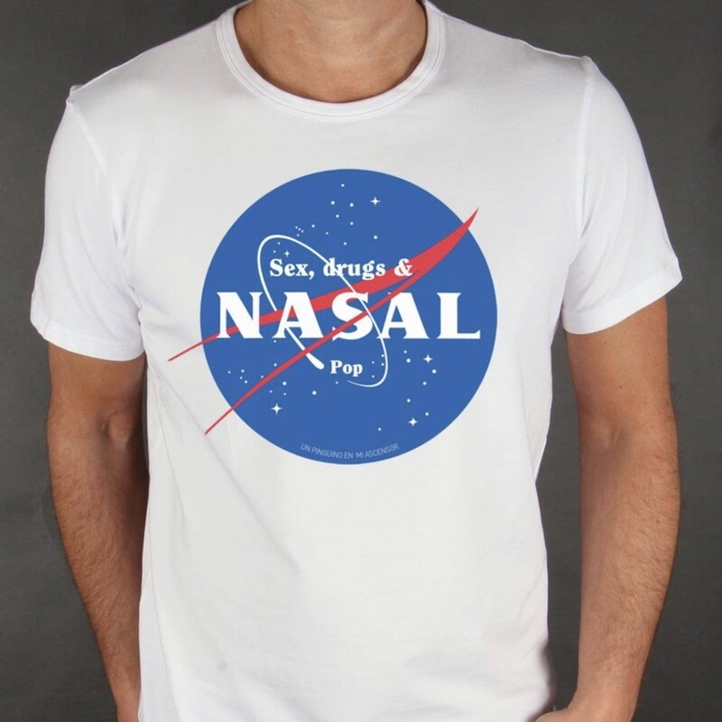Sex, Drugs&Nasal Pop. Camiseta 30 aniversario