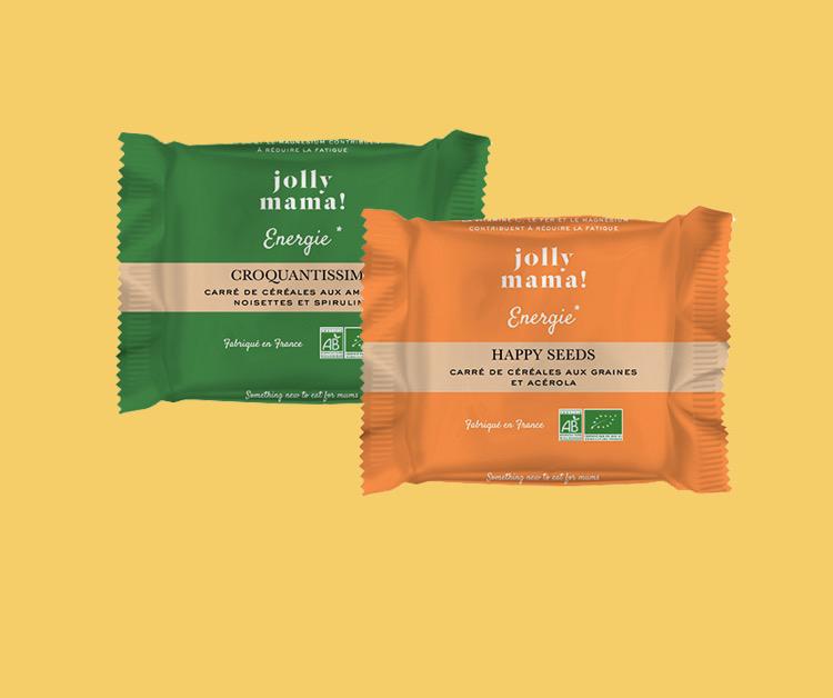 Jolly Mama - Pochon découverte Gamme Energie