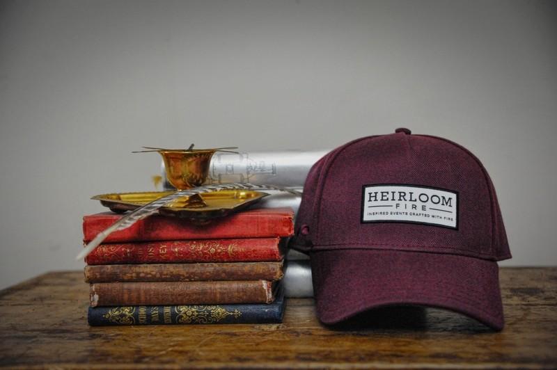 Maroon Cap | Heirloom Fire