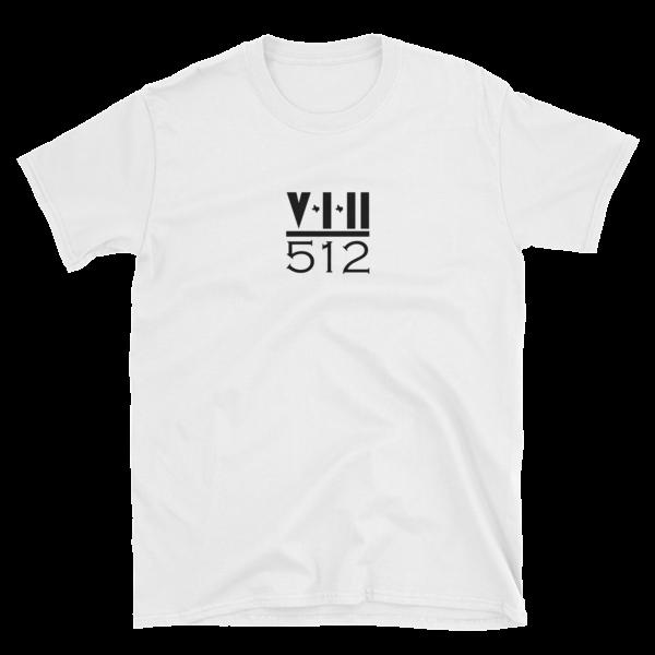 Over-Under Short-Sleeve Unisex T-Shirt