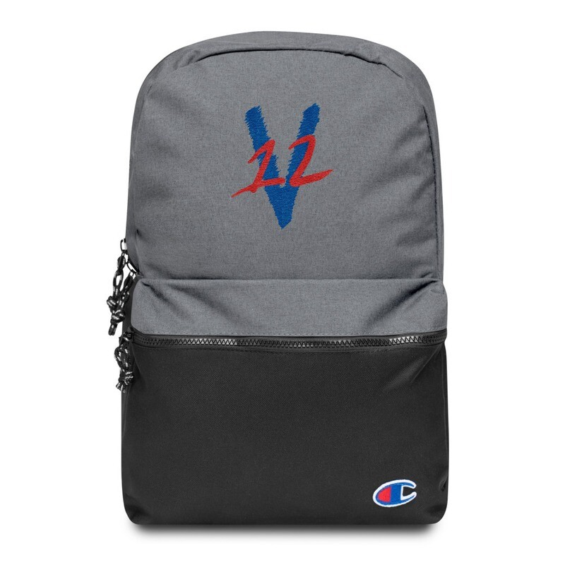 v12 Embroidered Champion Backpack
