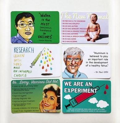 Postcards - All 7 designs
